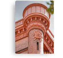 Beautiful piece of architecture-school building in B'klyn NY Canvas Print