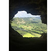 Cave Opening Photographic Print