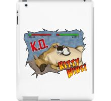 Kitty Wins!! iPad Case/Skin
