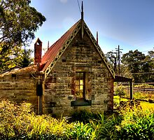 All Aboard - Medlow Bath Station Masters Cottage, Sydney - The HDR Experience by Philip Johnson