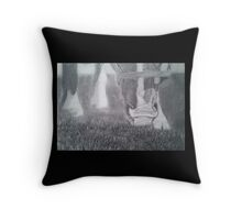 Grazing in the Sun Throw Pillow