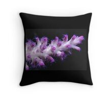Coral polyps, Great Barrier Reef Throw Pillow