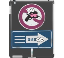 Splatoon Inspired: Googly Eyes Street Sign iPad Case/Skin