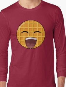 WAFFLEMODE ' S EPIC YOUTUBE MASCOTTE Long Sleeve T-Shirt