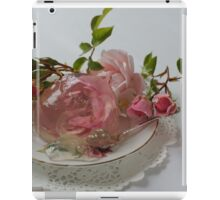 Rose dessert - by Darren Harwood iPad Case/Skin