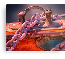 Anchor Chain Metal Print