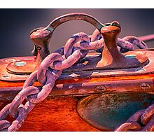 Anchor Chain Photographic Print