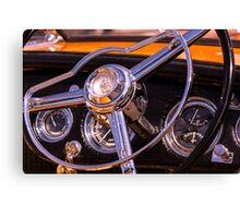 Chromed Cruiser 1 Canvas Print