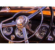 Chromed Cruiser 1 Photographic Print
