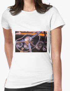 Chromed Cruiser 1 Womens Fitted T-Shirt