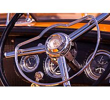 Chromed Cruiser 2 Photographic Print