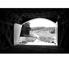 Holliwell Covered Bridge- The Bridges of Madison County, IA Photographic Print