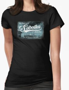 Re-Elect Frank Sobotka - the Wire Womens Fitted T-Shirt