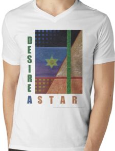 Energy Projections - Desire A Star Mens V-Neck T-Shirt