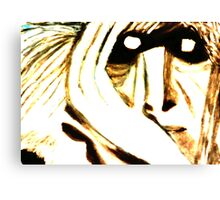 THE GREY GHOST Canvas Print