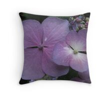 Purple Enchantment Throw Pillow