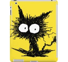 Black Unkempt Kitten GabiGabi iPad Case/Skin