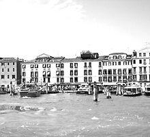 Black and White Venice  by Céline C