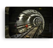 Corona Tunnel Canvas Print