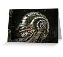 Corona Tunnel Greeting Card