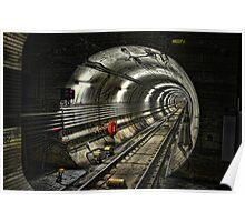 Corona Tunnel Poster