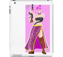 Trish With a Gun  iPad Case/Skin