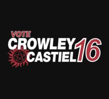 Crowley / Castiel 2016 One Piece - Short Sleeve
