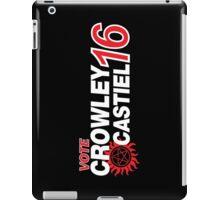 Crowley / Castiel 2016 iPad Case/Skin