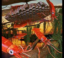 Ocean Invasion #8: Tending the Squid Hive by Daniel Brown