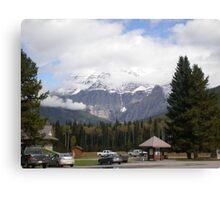 Mt. Robson, Canadian Rockies. Canvas Print