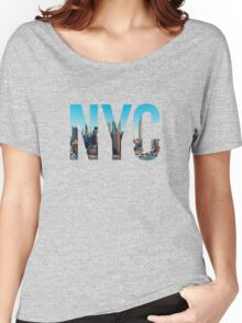 NYC Women's Relaxed Fit T-Shirt