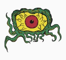 Crawling Eye Monster Kids Tee