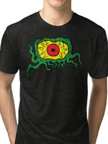 Crawling Eye Monster Tri-blend T-Shirt