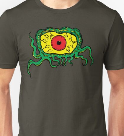 Crawling Eye Monster Unisex T-Shirt