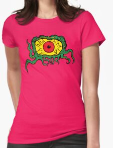 Crawling Eye Monster Womens Fitted T-Shirt