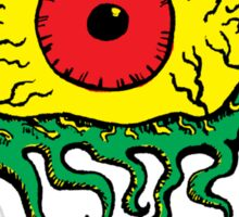 Crawling Eye Monster Sticker