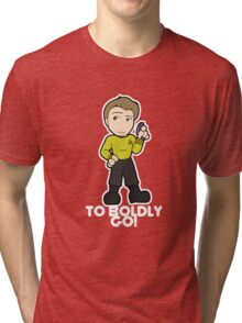 To Boldly Go! Tri-blend T-Shirt