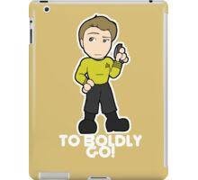 To Boldly Go! iPad Case/Skin
