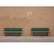 No standing. Photographic Print
