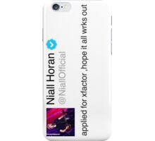 Hope it all wrks out iPhone Case/Skin