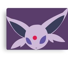 pokemon eevee espeon anime manga shirt Canvas Print