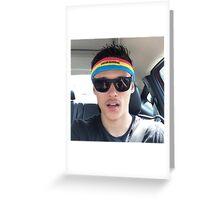 Jonathans Face Greeting Card