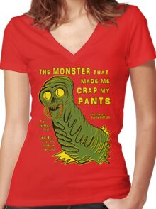 The Monster That... Women's Fitted V-Neck T-Shirt
