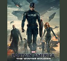 Captain America Winter Soldier Poster by rachelgracey