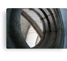 Engineering arches and angles Canvas Print