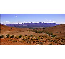 Mountains of the Australian Outback Photographic Print