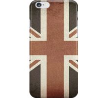 Vintage United Kingdom Flag iPhone Case/Skin