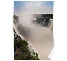 Iguazu Falls - Devil's Gorge Area Poster