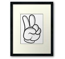 Good Gloves • Peace Framed Print