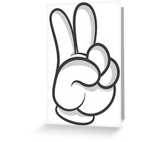 Good Gloves • Peace Greeting Card